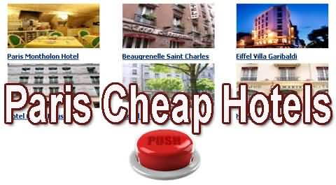 Paris Cheap Hotels