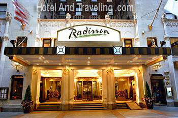 Hotel Radisson; Welcome